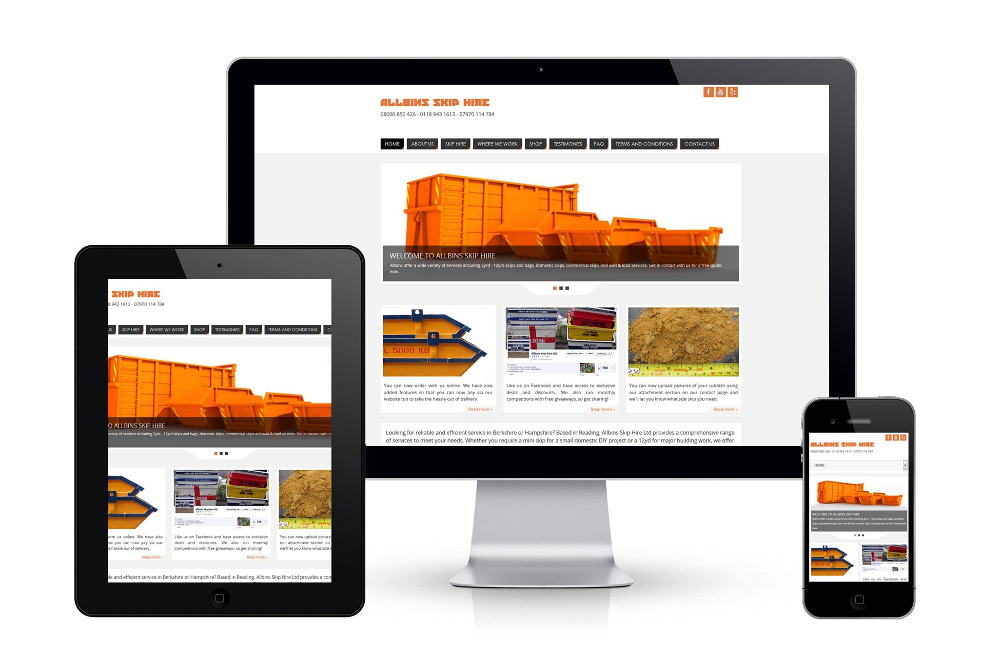 ALLBINS Website