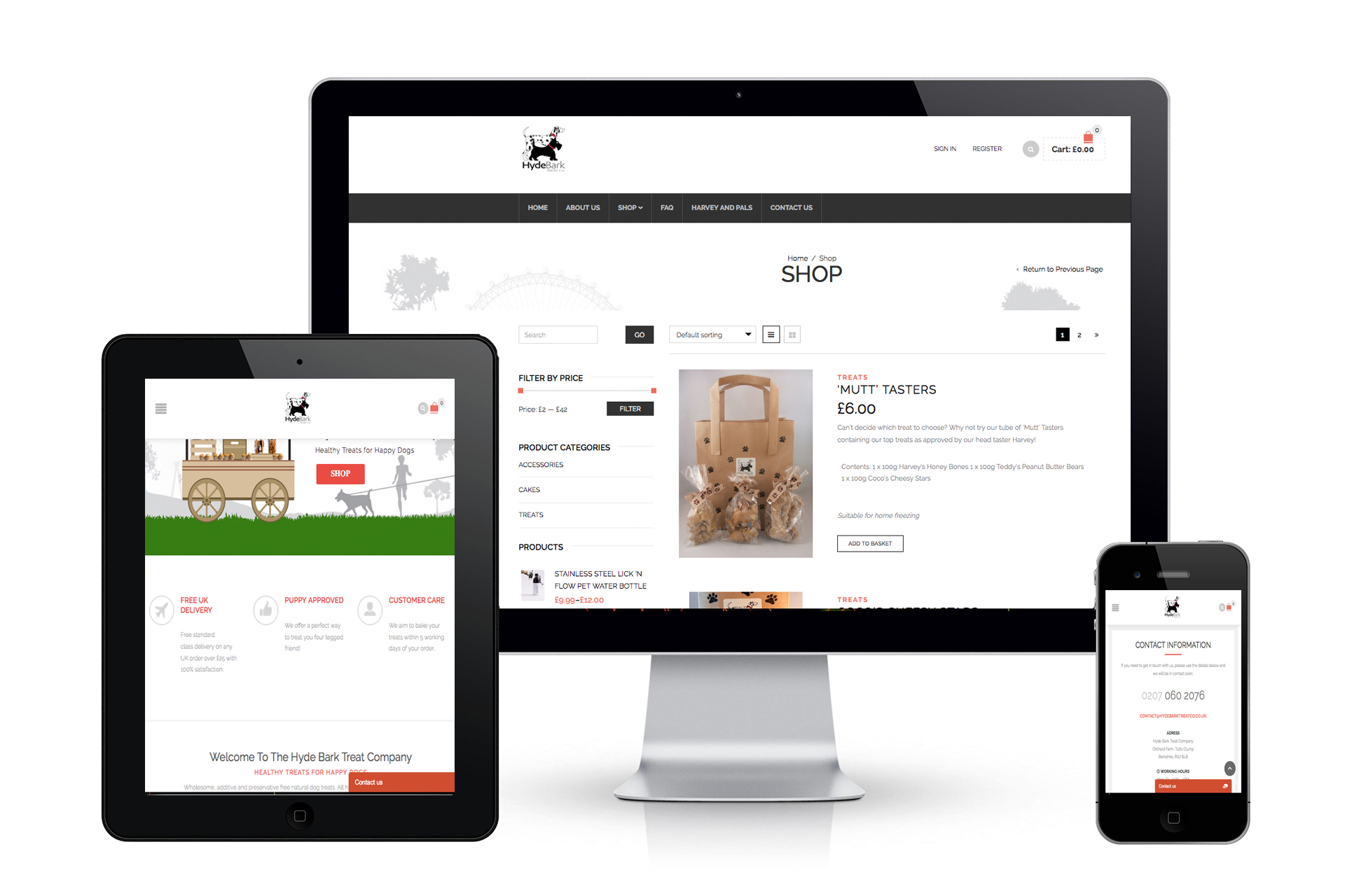 Hyde-Bark-Website