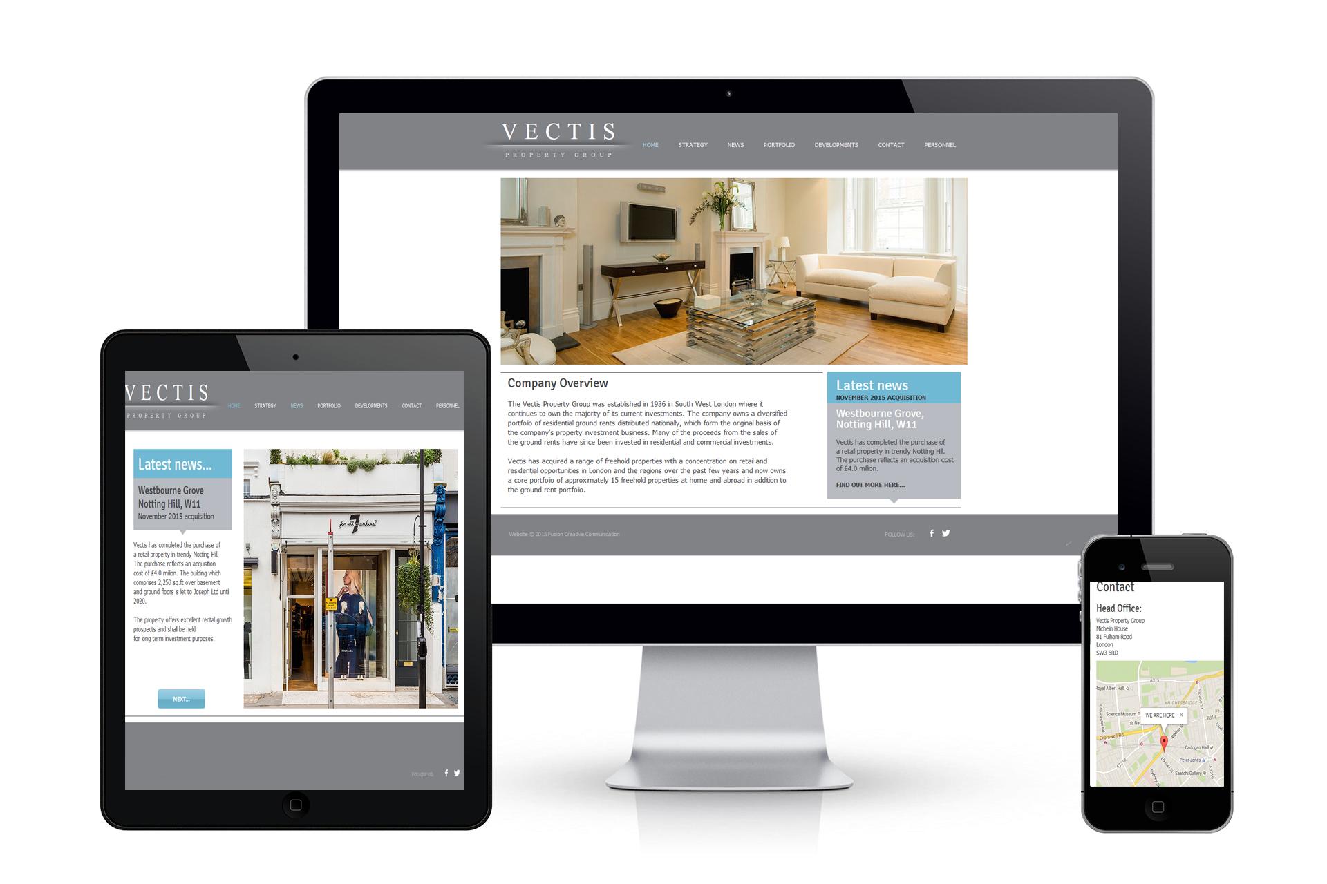 Vectis-Website